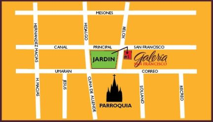 Galeria-San-Francisco-Map