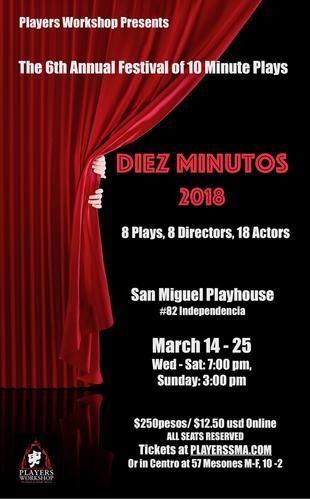 Theater Minute Play Festival Players Workshop Discover San - San miguel car show 2018