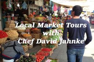 Local Market Tours with Chef David Jahnke