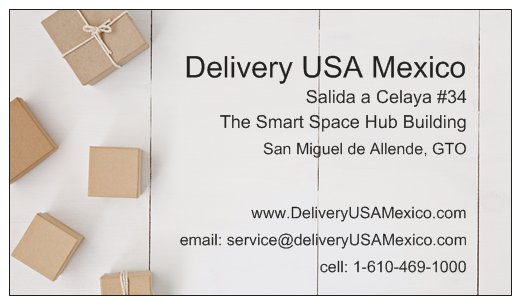 Delivery USA/Canada to Mexico