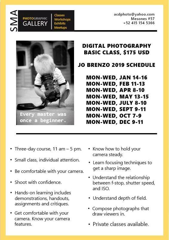 Basic Digital Photography Workshop || PhotoGraphic Galeria