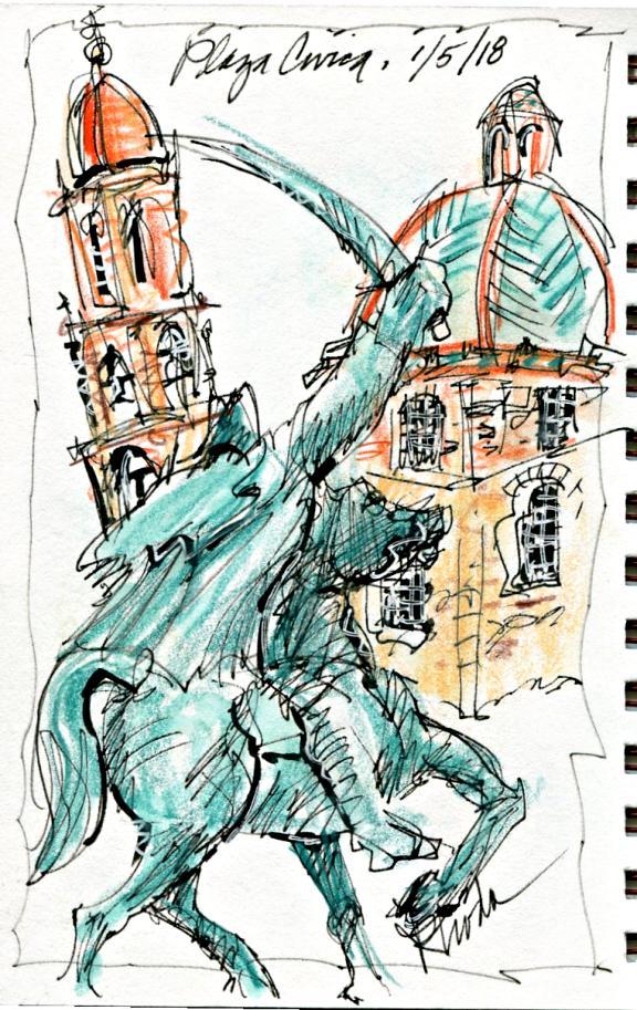 Plaza-Civica-statue