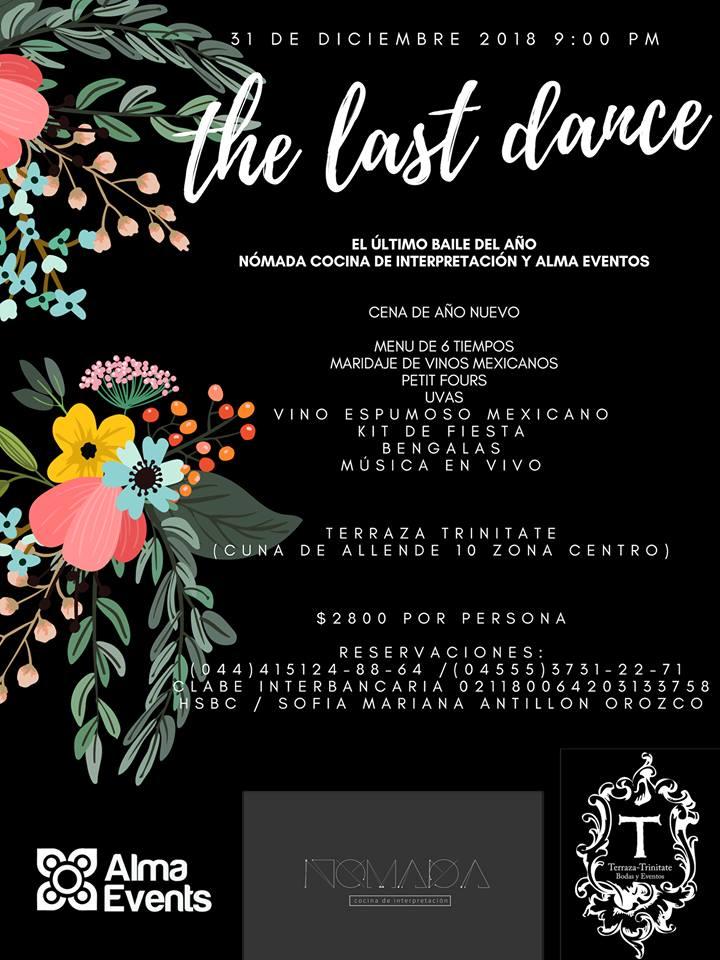 Last Dance Of 2018 Terraza Trinitate Discover San Miguel