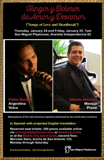 Songs of Love, Heartbreak, Tangos, Boleros || San Miguel