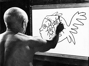 Documentary-The-Mystery-of-Picasso-1956