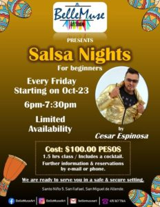 Salsa Nights [] Belle Muse Art Studio
