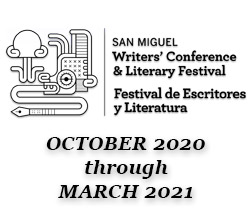 January Session Schedule [] San Miguel Writers Conference | Discover San  Miguel de Allende